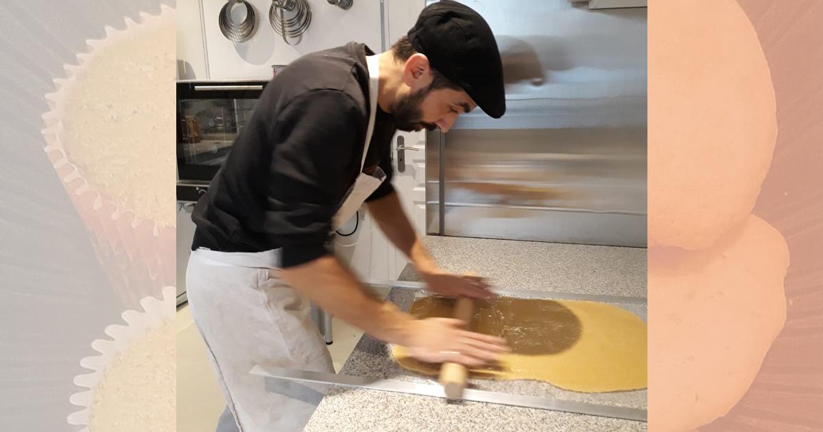 Bruce Jolly, créateur de pâtisseries