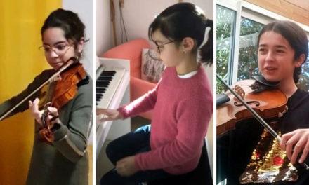 Un examen insolite à l'école de musique