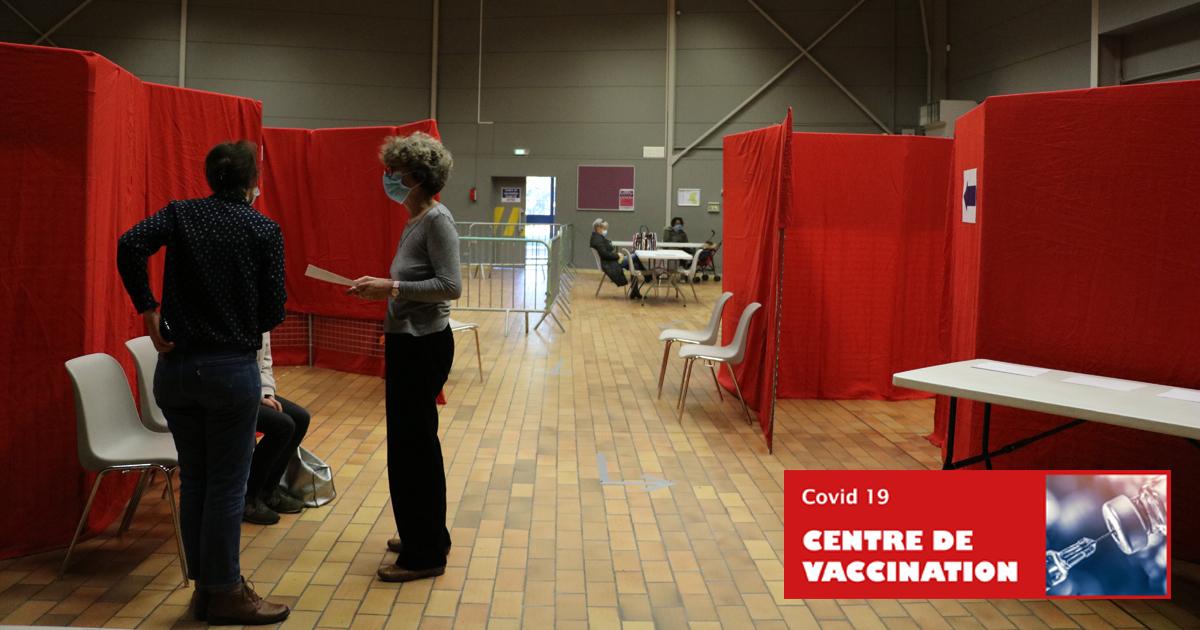 Nouveaux créneaux de vaccination pour la salle Bizet