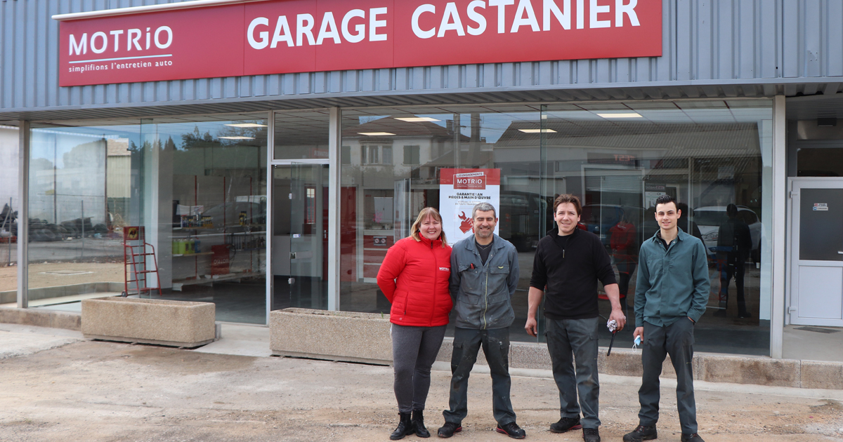 Nouveaux locaux et nouveaux services pour le garage Castanier