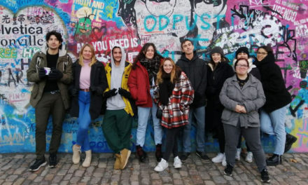 Erasmus : 8 jeunes en stage à Prague