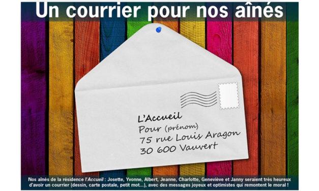Vauvert : Un courrier pour nos aînés