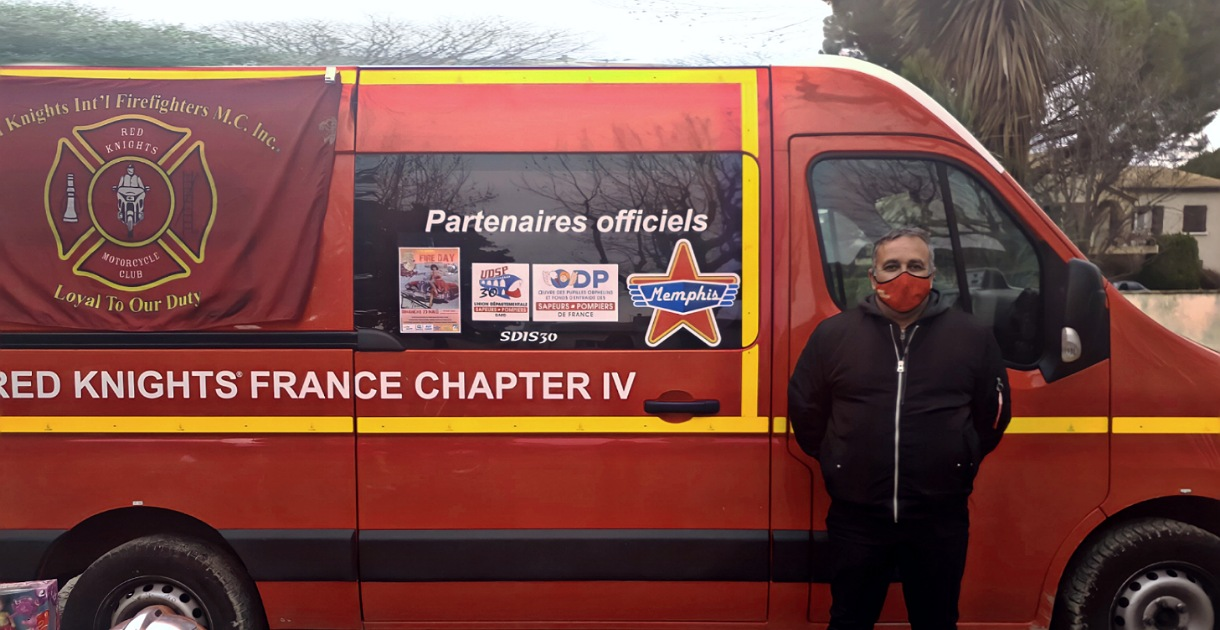 Red Knights France Chapter IV sur Aimargues