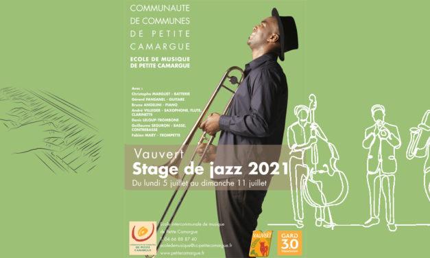 L'école de musique de Petite Camargue prépare le stage de jazz 2021