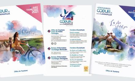 L'Office de tourisme Cœur de Petite Camargue sort son guide touristique 2021