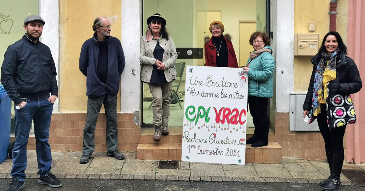 L'épicerie solidaire et zéro déchet va bientôt ouvrir rue des Capitaines