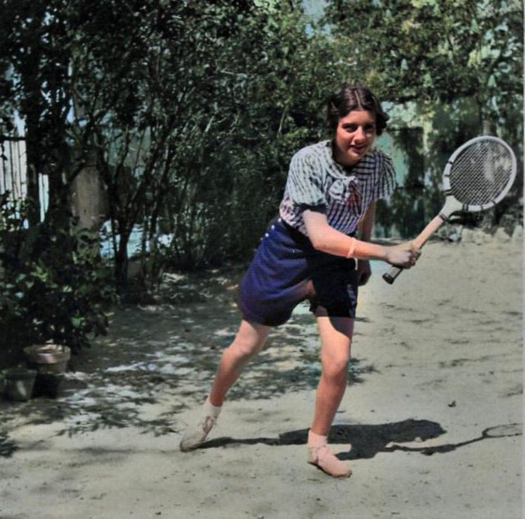 Au tennis 1938