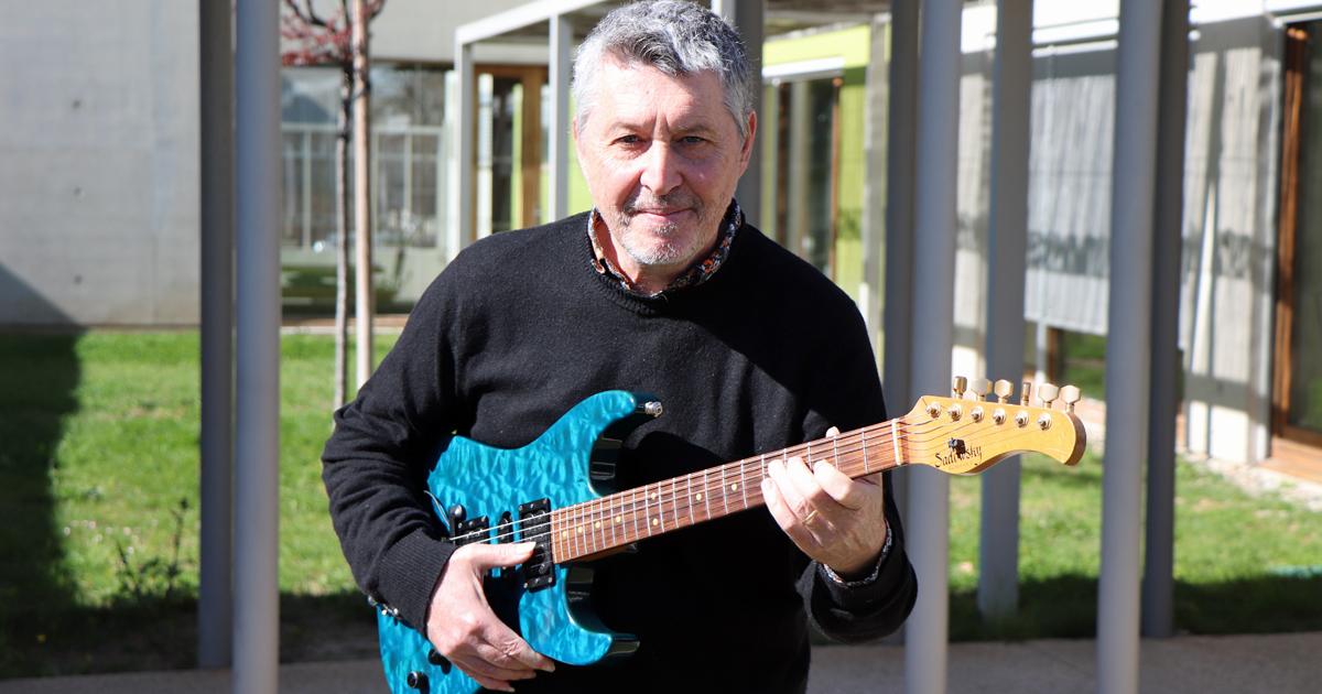 Rencontre avec Jean-Marie Frédéric, professeur de guitare