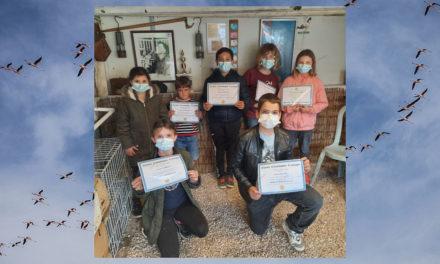 Le Cailar : L'Entente récompense ses jeunes colombophiles