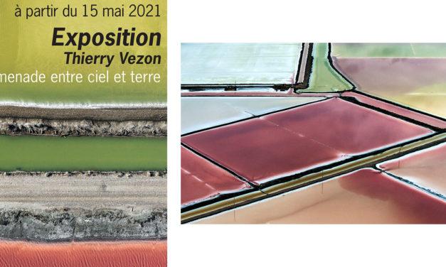 Exposition en plein air de photographies de Thierry Vezon : Promenade entre ciel et terre