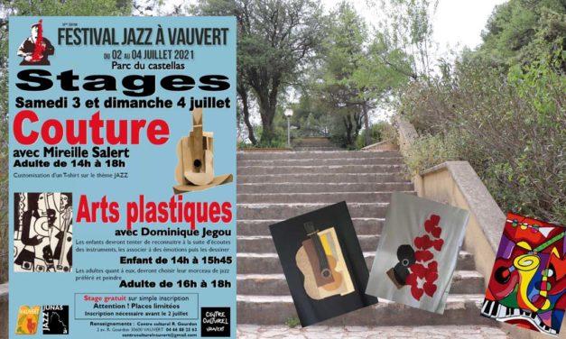 Les ateliers du Centre culturel Robert Gourdon au Festival Jazz à Vauvert