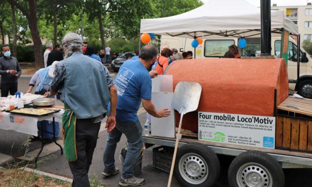 Le four à pain Loco'Motiv a livré ses premières fournées