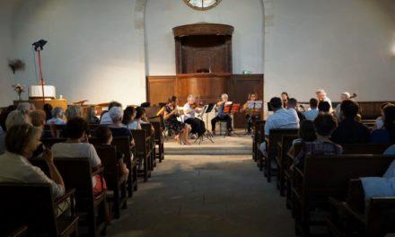 Fête de la musique au temple de Beauvoisin