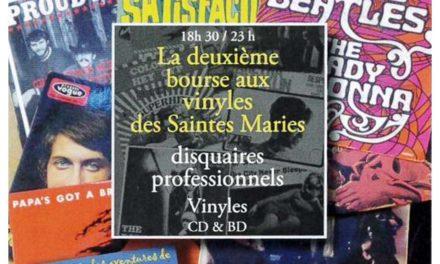Ce samedi, 2ème Bourse aux vinyles des Saintes-Maries de la Mer