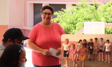 Muriel Canet enseigne depuis plus de 20 ans dans la classe Ulis à Jean Macé