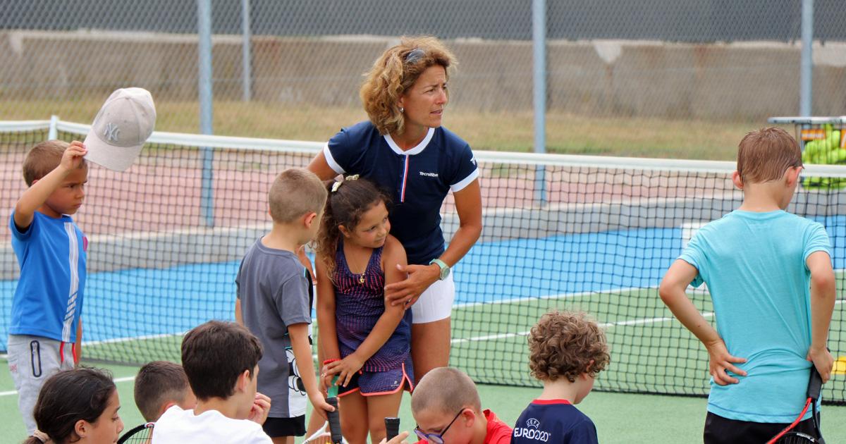 Patricia Ouellet, nouvel entraîneur du Tennis club de Vauvert