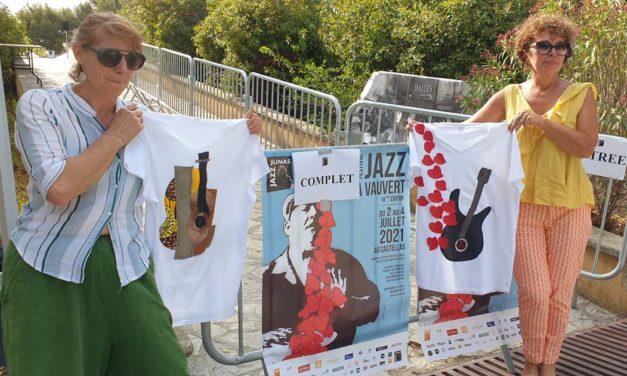 Les couturières du week-end créent le T-shirt du Festival de jazz