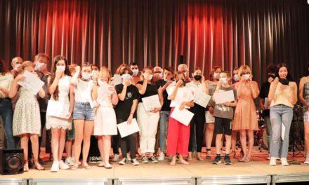 À l'école de musique, la remise des diplômes a clôturé une année scolaire très compliquée
