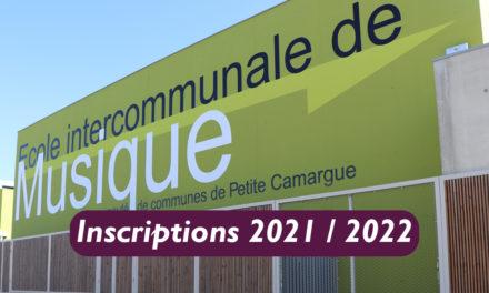 Inscriptions à l'école de musique de Petite Camargue à partir du 8 septembre