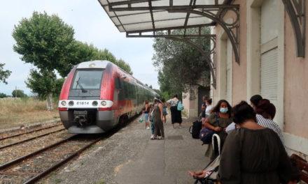 « J'ai pris le train à 1 €, Vauvert – Le Grau du Roi »
