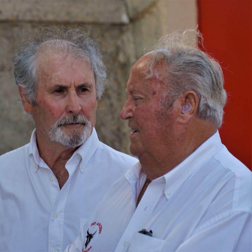 Roger Pascal et Gérard Barbeyrac