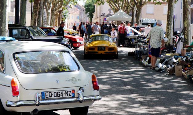 250 voitures de collection exposées à Vauvert