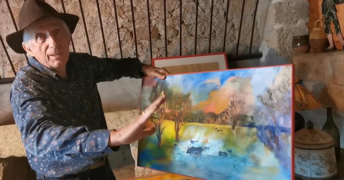 Robert Faure, peintre et écrivain, à découvrir dans sa galerie à Gallargues-le-Montueux