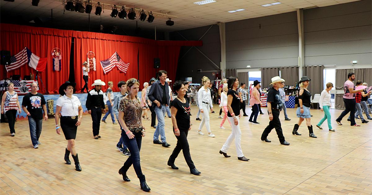 Festival de danses et musiques country à Vauvert, samedi 16 octobre