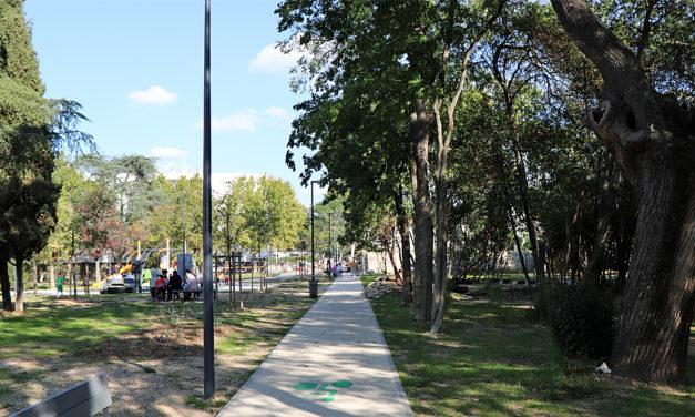 Le jardin Molines, magnifique parc public, préfigure le renouvellement urbain de Vauvert