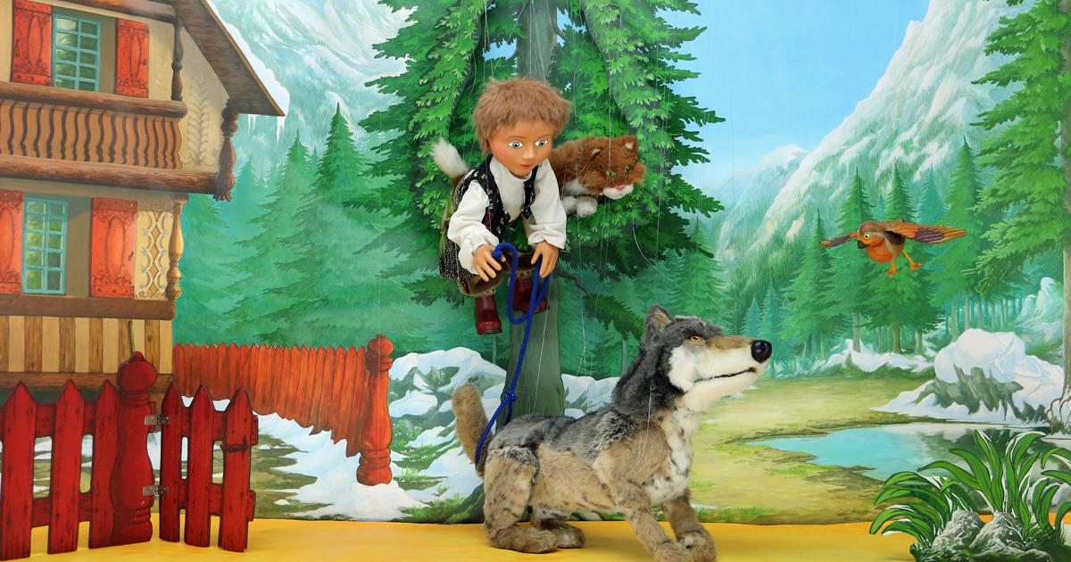 Pierre et et le Loup au centre culturel